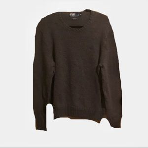 Polo Ralph Lauren Charcoal Crewneck Sweater